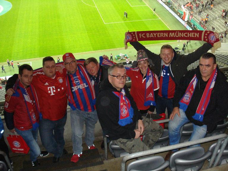 26.10.2016 Wyjazd na mecz II rundy Pucharu Niemiec FC Bayern Monachium – FC Augsburg