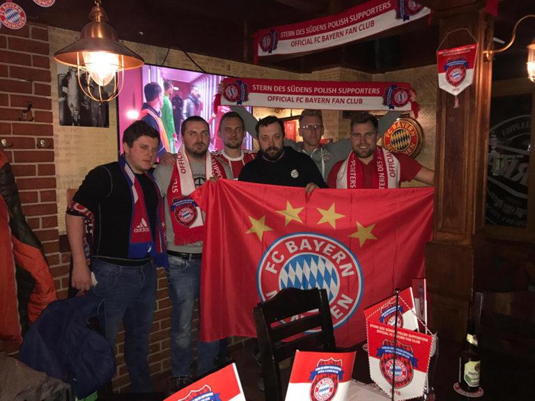 20.02.2018 Lokalne Spotkania Meczowe: 1/8 Finału Ligi Mistrzów FC Bayern Monachium – Besiktas JK
