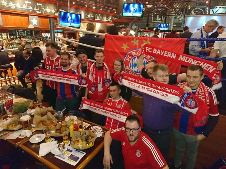 03.04.2018 Lokalne Spotkania Meczowe: Ćwierćfinał Ligi Mistrzów Sevilla FC – FC Bayern Monachium