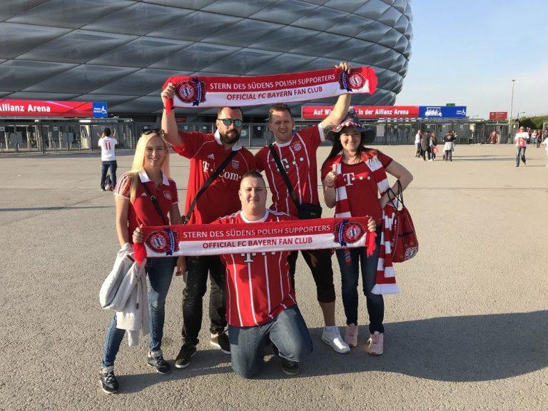 28.04.2018 Wyjazd na mecz 32 kolejki Bundesligi FC Bayern Monachium – Eintracht Frankfurt