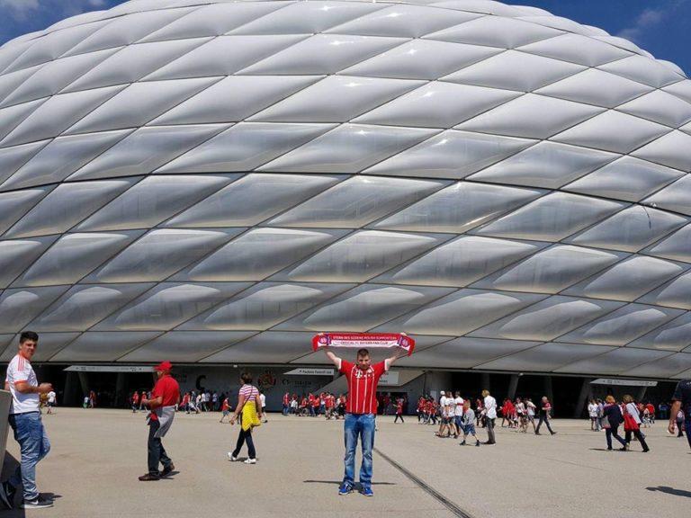 14.05.2018 Wyjazd na mecz 34 kolejki Bundesligi FC Bayern Monachium – VfB Stuttgart