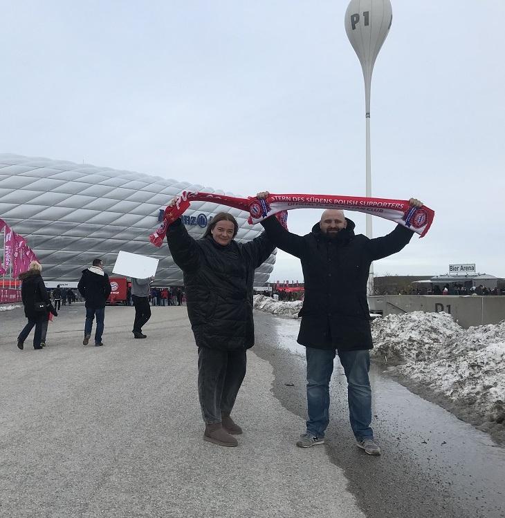 09.02.2019 Wyjazd na mecz 21 kolejki Bundesligi FC Bayern Monachium – FC Schalke 04