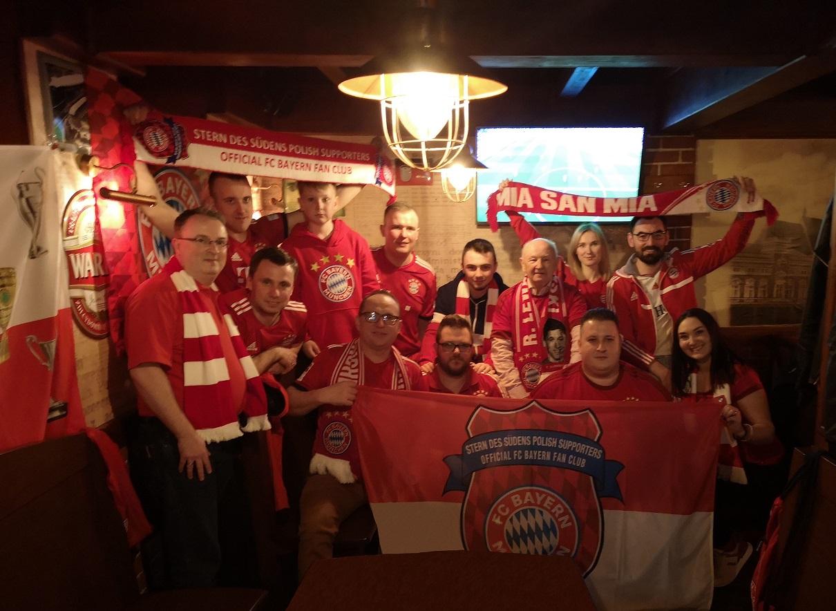 06.04.2019 Spotkania meczowe Oddziałów Regionalnych Fanklubu: 28 kolejka Bundesligi FC Bayern Monachium – Borussia Dortmund