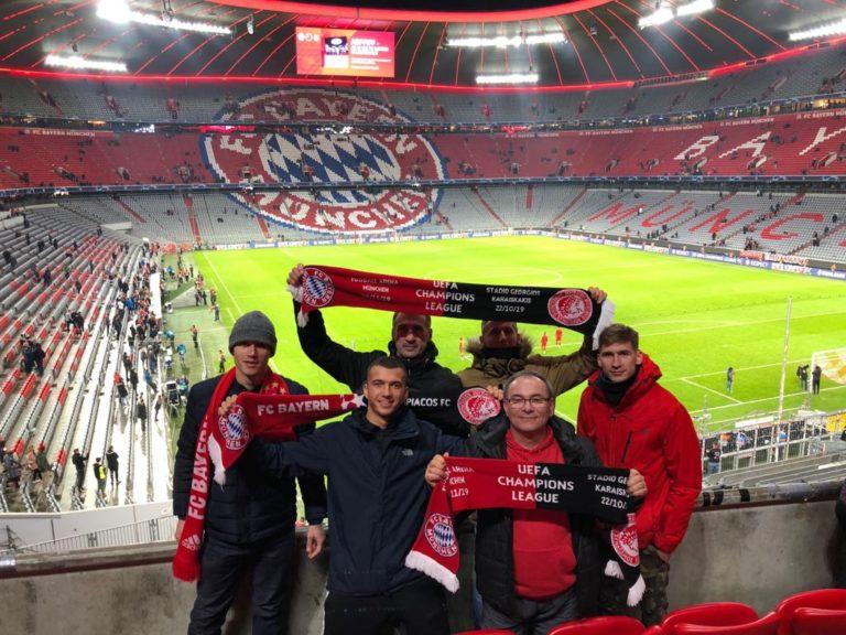 06.11.2019 Wyjazdy na mecz 5 kolejki fazy grupowej Ligi Mistrzów FC Bayern Monachium – Olympiakos SFP