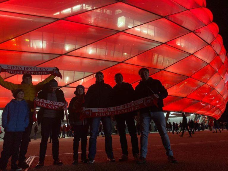 11.12.2019 Wyjazd na mecz 6 kolejki fazy grupowej Ligi Mistrzów FC Bayern Monachium – Tottenham Hotspur F.C.