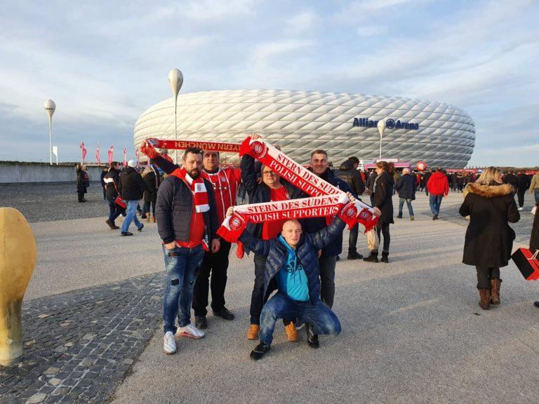 09.02.2020 Wyjazd na mecz 21 kolejki Bundesligi FC Bayern Monachium – RB Lipsk