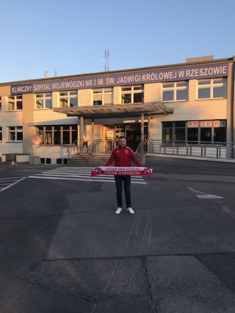 15.02.2020 Akcja charytatywna: Klinika Onkohematologii w rzeszowskim Szpitalu Wojewódzkim nr 2